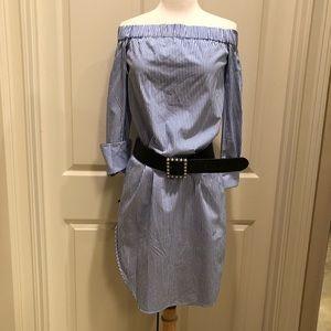 Rag & Bone Kacy striped shirt dress XS